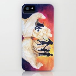 You Have Power To Reunite a Family in The Palm of Your Hands iPhone Case