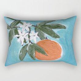 ojai orange Rectangular Pillow