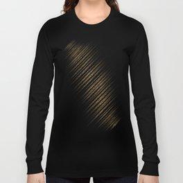 Black Leopard/Cheetah Print Long Sleeve T-shirt