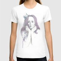 crown T-shirts featuring Crown by Ivanna Stefanova