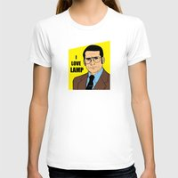 will ferrell T-shirts featuring I love lamp - Brick Tamland by Buby87