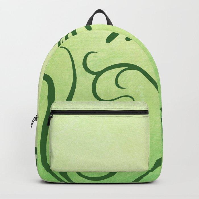 Beautiful greenery Backpack
