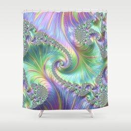 Fantastic factual fractal Shower Curtain