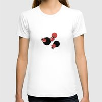 polka T-shirts featuring Ladybird Polka by Paula Belle Flores