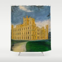 Downton Abbey – Highclere Castle Shower Curtain