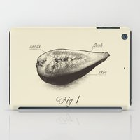 fig iPad Cases featuring Fig 1 by Charity Ryan