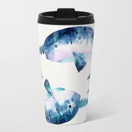 Blue Narwhals Travel Mug