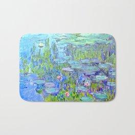 Water Lilies monet : Nympheas Bath Mat
