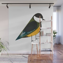 The Great Tit Wall Mural