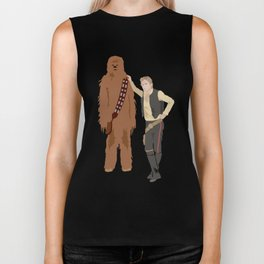 Han Solo and Chewbacca Biker Tank