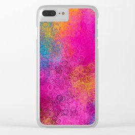 I Love Hue Madly Clear iPhone Case