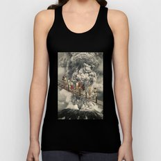 the eruption... Unisex Tank Top