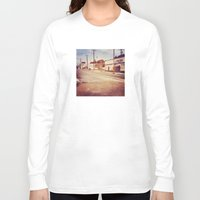 memphis Long Sleeve T-shirts featuring Memphis Street by wendygray