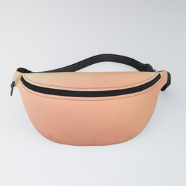 Fashionable Pink Peach Ombre Design Fanny Pack
