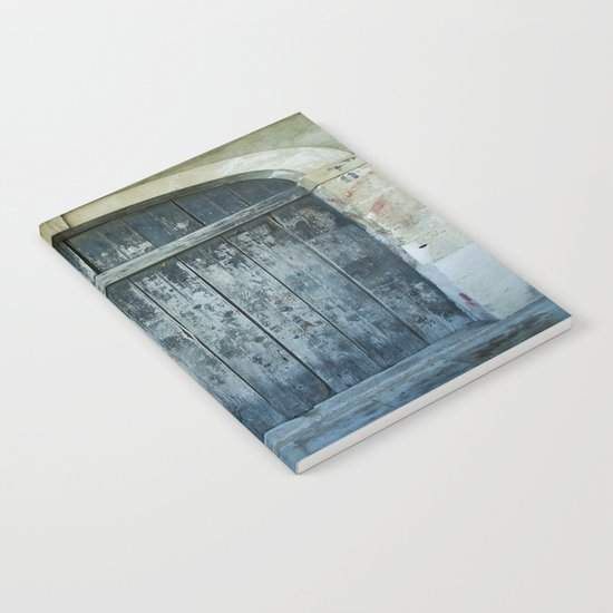 Blue door Notebook