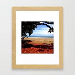Coopers Beach Framed Art Print