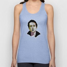 Joe Strummer - Lead singer of the Clash, Joe Strummer and the Mescaleros Unisex Tank Top