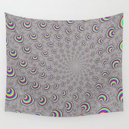Psychedelic Swirl Wall Tapestry