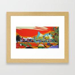 Corcovado 2014 Framed Art Print