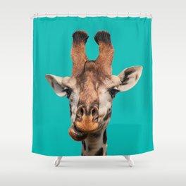 Gee Raffe the Giraffe Shower Curtain