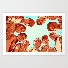 That's the most amazing thing i ever saw. Art Print
