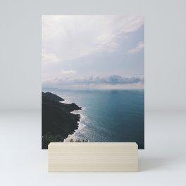 Donostia / San Sebastián Coast, Spain Mini Art Print