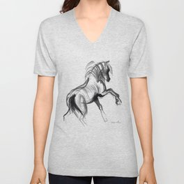 Wild horse (Bachelor) Unisex V-Neck