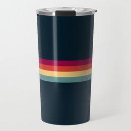 Ujizane - Classic Zeitgeist Retro Stripes Travel Mug
