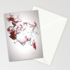 Ink dispersion Stationery Cards