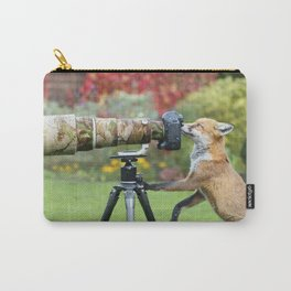 Fox the Photographer Carry-All Pouch