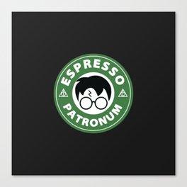 Espresso Patronum Starbucks Canvas Print