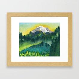 The Peak Framed Art Print