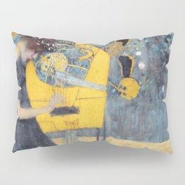 "Gustav Klimt ""Music (Die Musik)"" Pillow Sham"