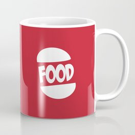 FOOD logo fun generic food logo Coffee Mug
