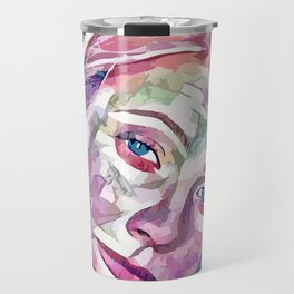 Gwyneth Paltrow (Creative Illustration Art) Travel Mug
