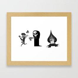 Morning! Framed Art Print
