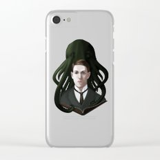 H P Lovecraft Clear iPhone Case