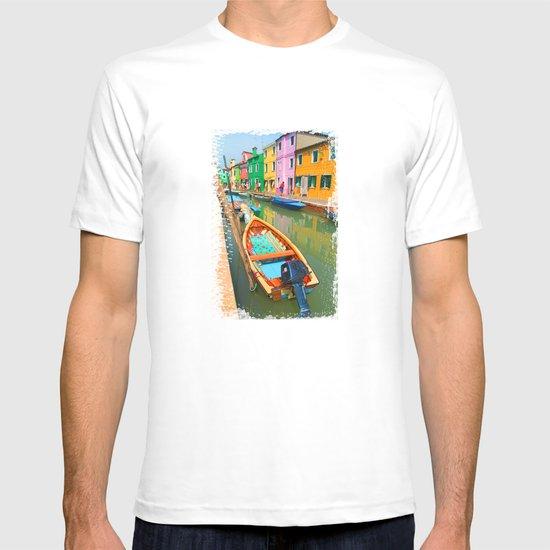 burano, italy - boat T-shirt