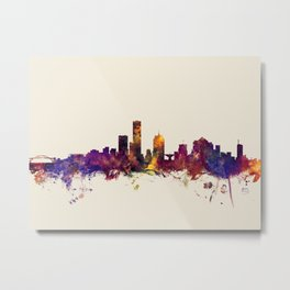 Milwaukee Wisconsin Skyline Metal Print