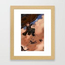 Priority Mail Framed Art Print