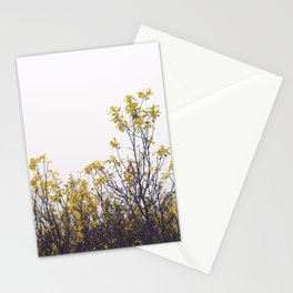 Yellow Leaves No1 Stationery Cards