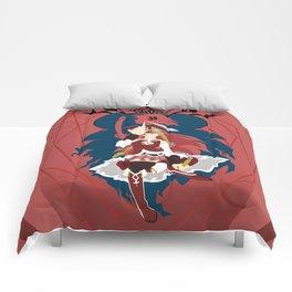 Alone, alone! Comforters
