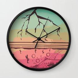 Luv N' Loathing Wall Clock