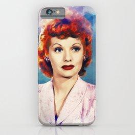 Lucille Ball, Actress iPhone Case