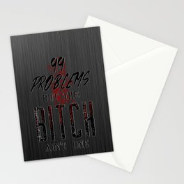 99 problems Stationery Cards