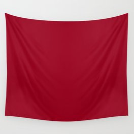 Dark Jester Red Fashion Color Trends Spring Summer 2019 Wall Tapestry