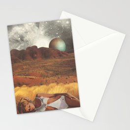 the life and death of stars - collab with sammy slabbinck Stationery Cards