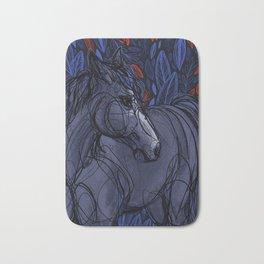 Valor the Mustang Bath Mat
