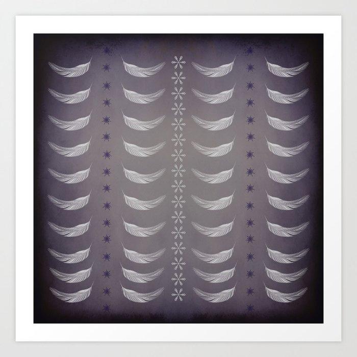 Light as a feather Art Print