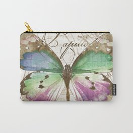 Papillon I Carry-All Pouch